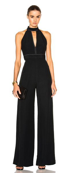 ALEXIS Dawn Jumpsuit in black - Self: 52% viscose 48% acetate - Lining: 100% poly.  Made...