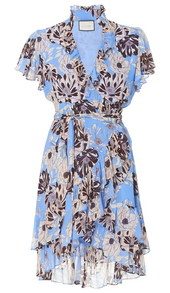 Alexis melyssa all over floral ruffled mini dress in print
