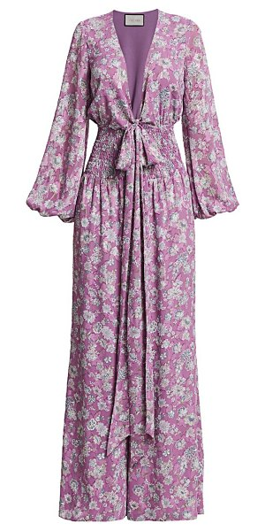 Alexis shanice jumpsuit in lilac floral