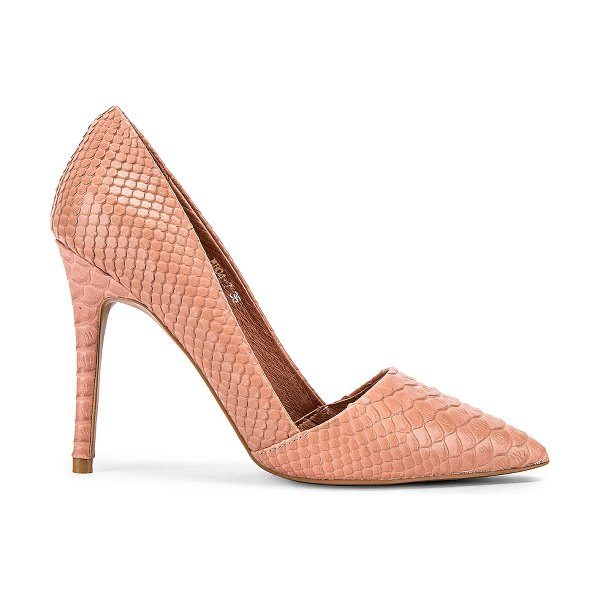 Alias Mae talise heel in blush snake