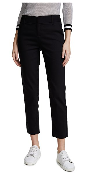 Alice + Olivia stacey slim pants in black