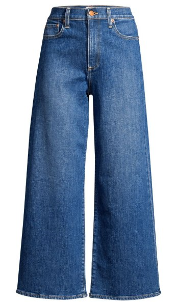 ALICE + OLIVIA JEANS gorgeous crop wide-leg jeans in enjoy this