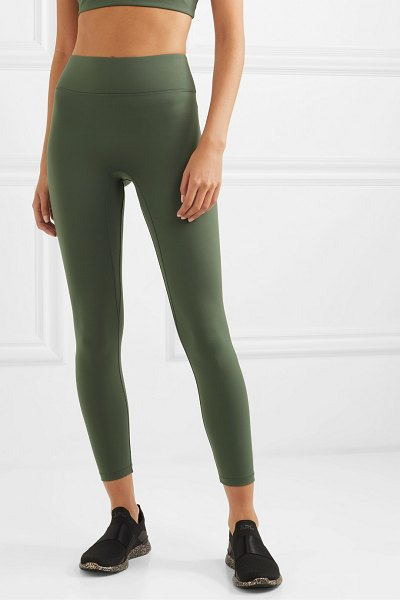 All Access center stage stretch leggings in green
