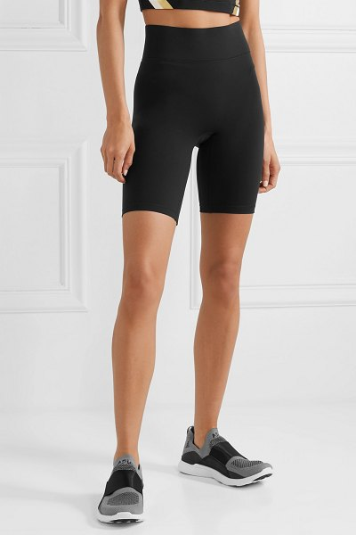 All Access rush stretch biker shorts in black - Biker shorts are one of the season's biggest trends, so...