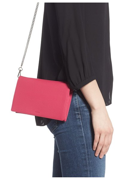 ALLSAINTS fetch crossbody bag in fuchsia pink - Sized to carry your essentials without overwhelming you,...