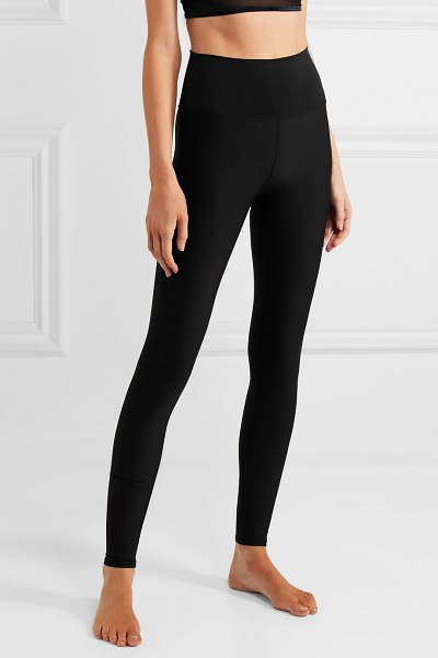 Alo Yoga airlift stretch leggings in black - Designed with a studio-to-street lifestyle in mind, Alo...