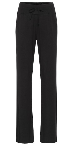 Alo Yoga extreme high-rise wide-leg pants in black