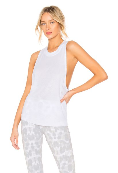 Alo Yoga heat wave tank in white - alo Heat Wave Tank in White. - size XS (also in S,M,L)...