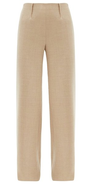 Altuzarra luther wool-blend wide-leg trousers in beige