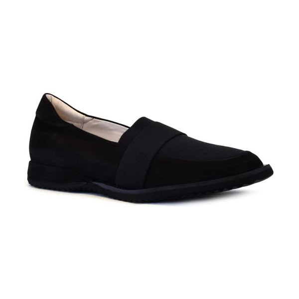 Amalfi by Rangoni enya loafer in black leather