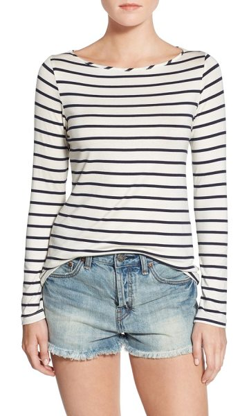 Amour Vert francoise stripe top in marine stripe