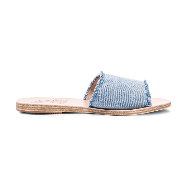 Ancient Greek Sandals Taygete Sandals in blue - Born with strong roots in Ancient Greek myth and...