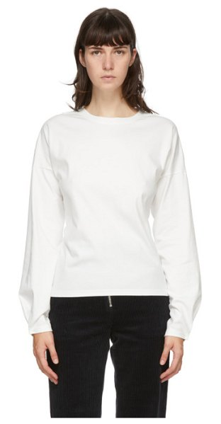 Andersson Bell hook micah long sleeve t-shirt in white