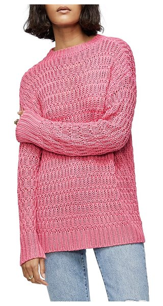ANINE BING juliette sweater in pink