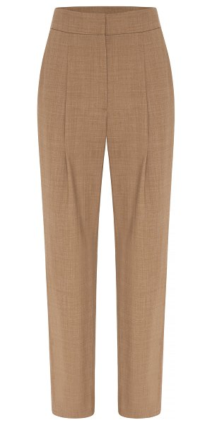 Anna Quan tate wool-blend cropped pants in brown