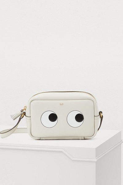 Anya Hindmarch Mini Eyes crossbody bag - Anya Hindmarch enriches one of her iconic collections...