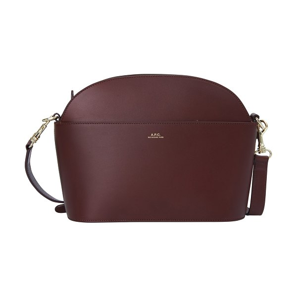 A.P.C. Gabriella bag in vino