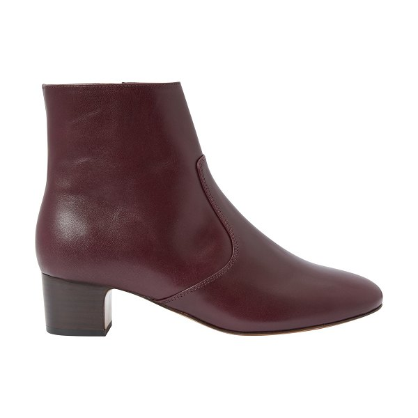 A.P.C. Joey boots with heels in bordeaux