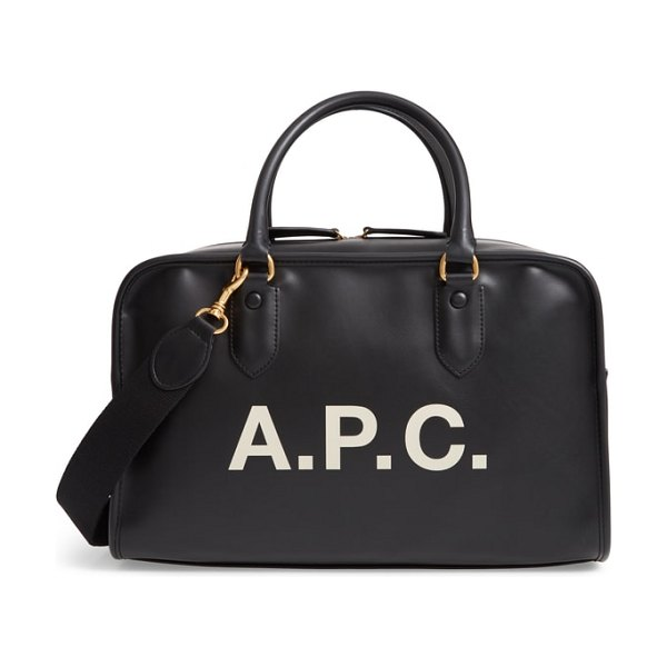 A.P.C. sac sylvie faux leather satchel in women~~bags~~tote