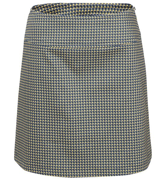 A.P.C. Wright skirt in iaf bleu acier