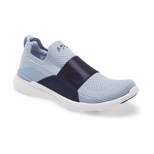 APL: Athletic Propulsion Labs techloom bliss knit running shoe in frozen grey / midnight / white