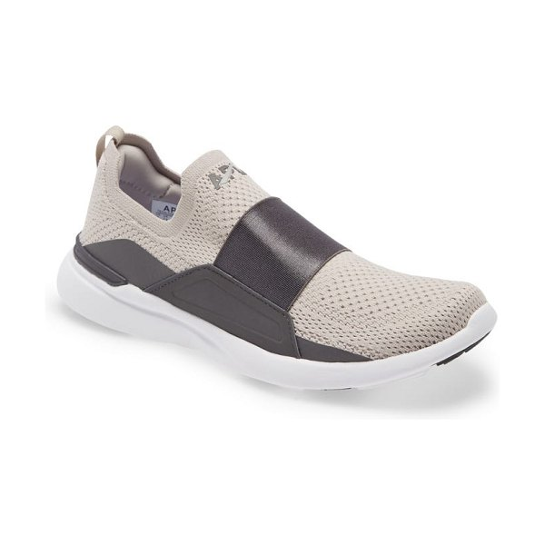 APL: Athletic Propulsion Labs techloom bliss knit running shoe in clay / asteroid / white