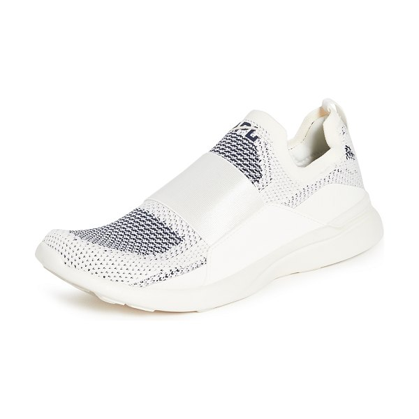 APL: Athletic Propulsion Labs techloom bliss sneakers in pristine/midnight