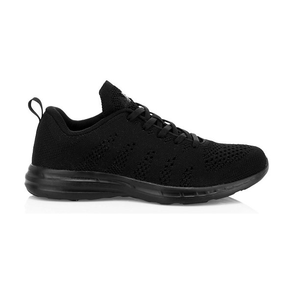 APL: Athletic Propulsion Labs techloom pro metallic mesh sneakers in black