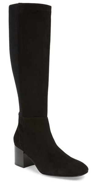 Aquatalia calynn tall weatherproof boot in black