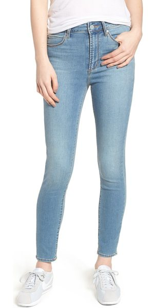 Articles of Society heather high waist skinny jeans in monaco - Subtle fading adds depth to versatile skinny jeans cut...
