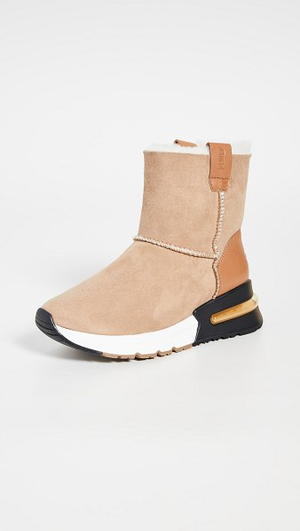 Ash kyoto sneaker boots in camel