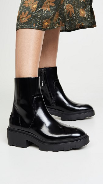 Ash muse chelsea boots in black