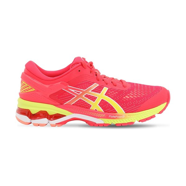Asics Gel-kayano 26 running sneakers in laser pink