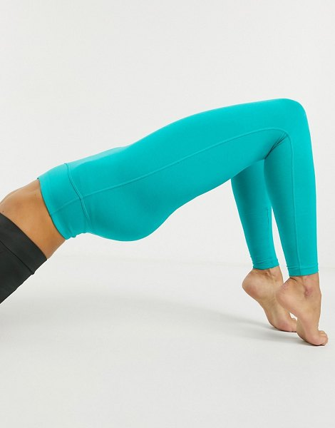 ASOS 4505 icon legging in cotton touch-blue in blue