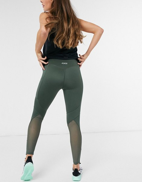 ASOS 4505 icon legging with bum sculpt seam detail and pocket-green in green