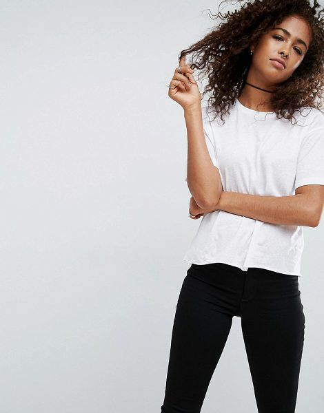 ASOS Relaxed T-Shirt - T-shirt by ASOS Collection, Soft-touch jersey, Semi-sheer...