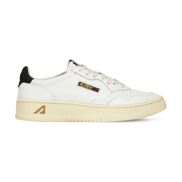 AUTRY Autry 01 low sneakers in white,black