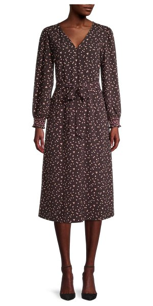 B Collection by Bobeau Small Dot-Print Dress in small dot