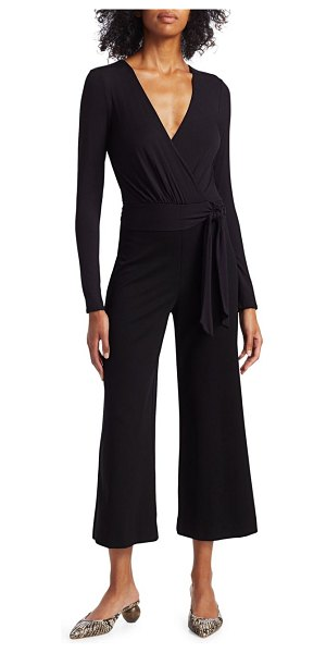 Bailey 44 Bethany Cropped Jumpsuit in eggshell black