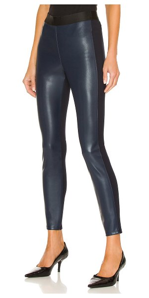 Bailey 44 pfeiffer eco leather pant in navy