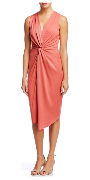 Bailey 44 twist front sleeveless dress in starfish