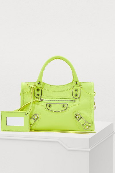Balenciaga City mini handbag - With this City mini handbag, Demna Gvasalia pays homage...