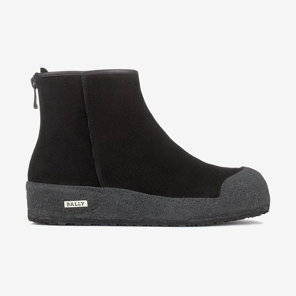 Bally Guard Ii in black - The Bally curling boot is available in  water-resistant e7e0880051512