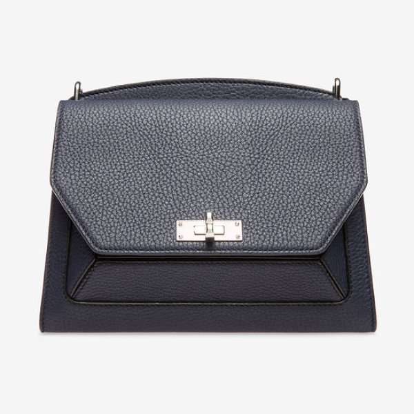 Bally Suzy Medium in blue - The rich blue Suzy is inspired by the fun and whimsical...