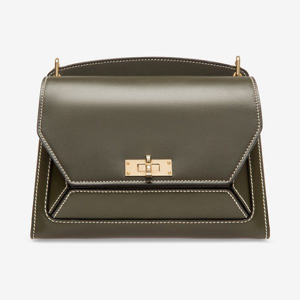 Bally Suzy Medium in grey - A sophisticated and playful women's shoulder bag, the...
