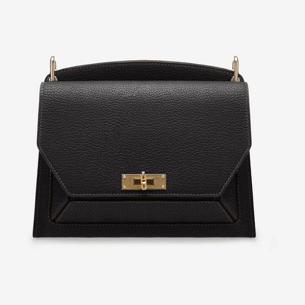 Bally Suzy Medium in black - A sophisticated and playful women's shoulder bag, the...