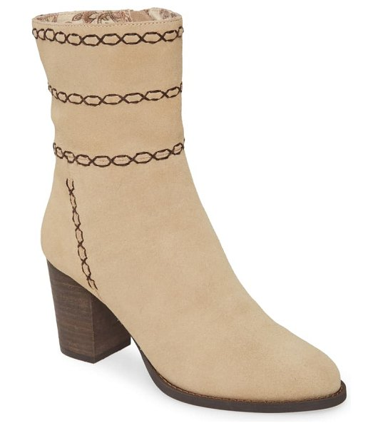 Band of Gypsies aurora boot in natural suede