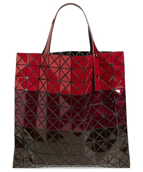 Bao Bao Issey Miyake prism tote in red mix