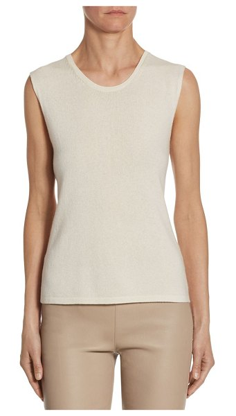 BARBARA LOHMANN One Cashmere Sweater Tank Top in pink - Soft cashmere tank top for a casual and comfortable...