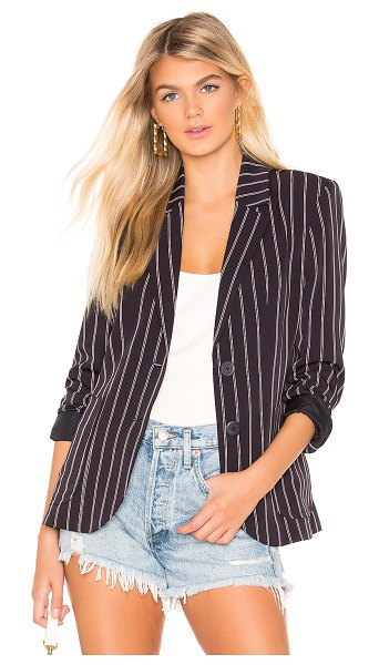 BB Dakota Blaze It Blazer in black - Self: 98% poly 2% elastaneLining: 100% poly. Hand wash...